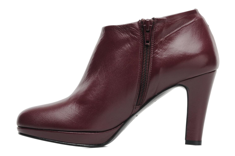 Bottines et boots Anna Volodia Aniora Bordeaux vue face