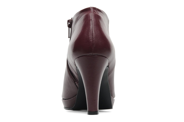 Bottines et boots Anna Volodia Aniora Bordeaux vue droite