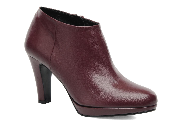 Bottines et boots Anna Volodia Aniora Bordeaux vue détail/paire