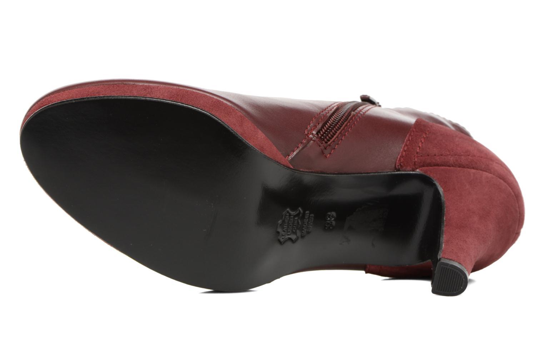 Bottines et boots Anna Volodia Aida Rouge vue haut
