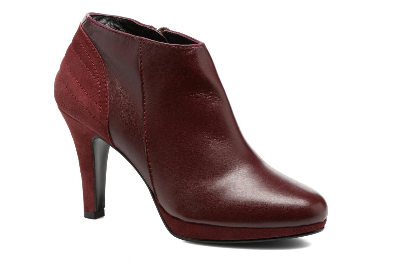 Ankelstøvler Anna Volodia Aida Rød detaljeret billede af skoene