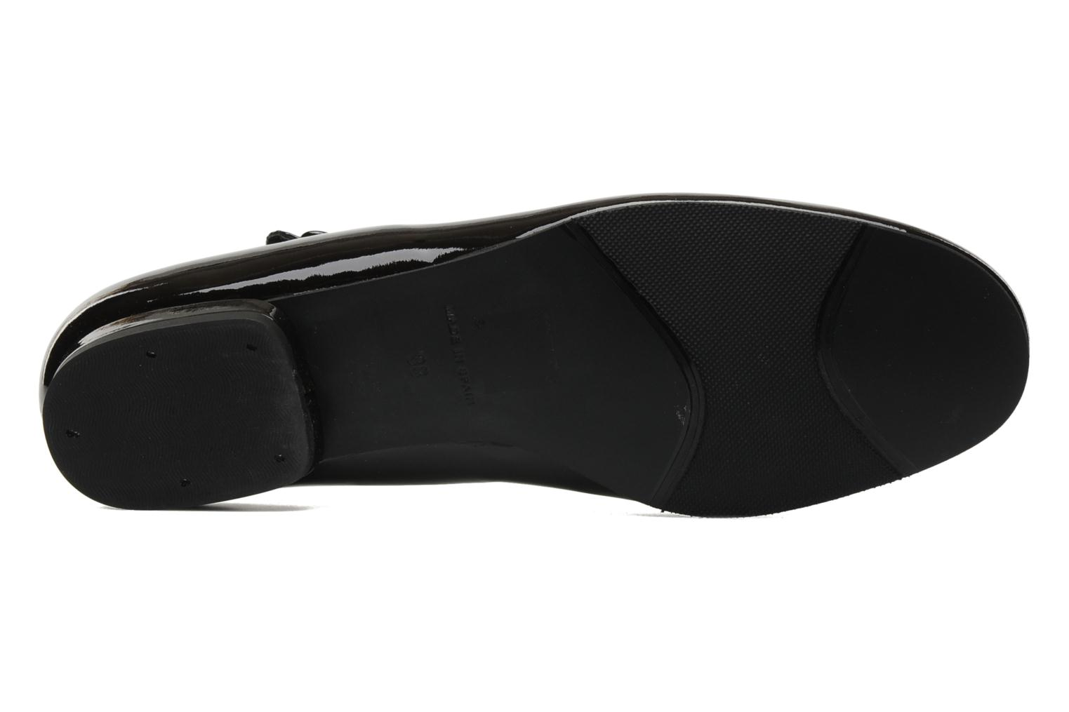 Ballet pumps Anna Volodia Aelan Black view from above