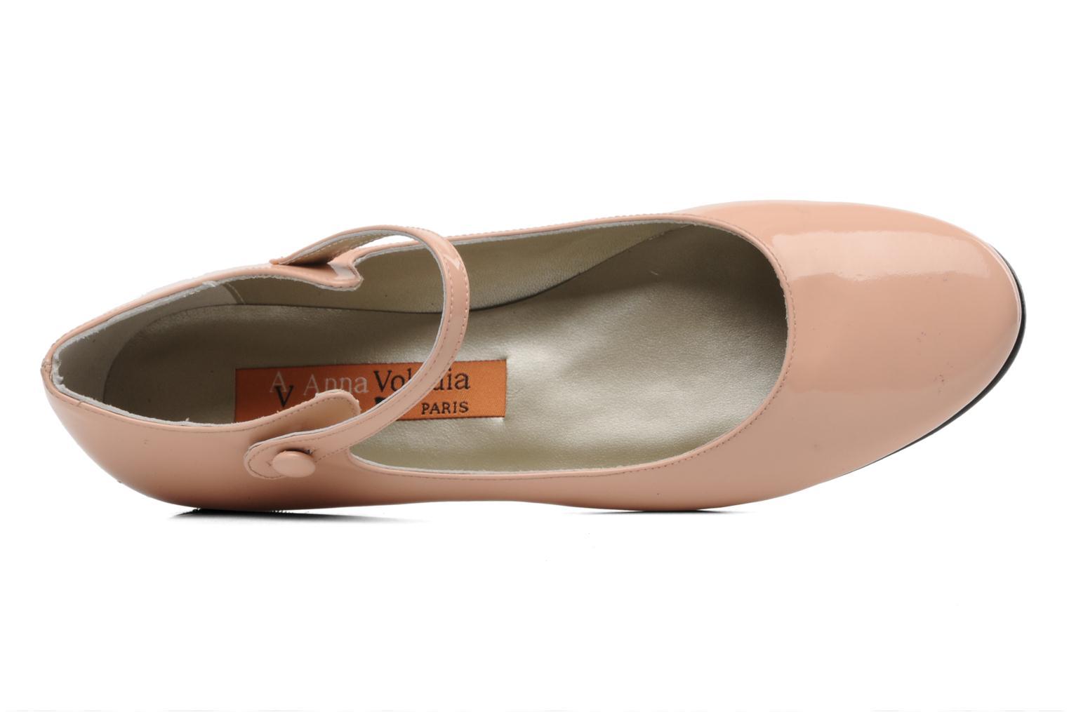 Ballerinas Anna Volodia Aelan rosa ansicht von links