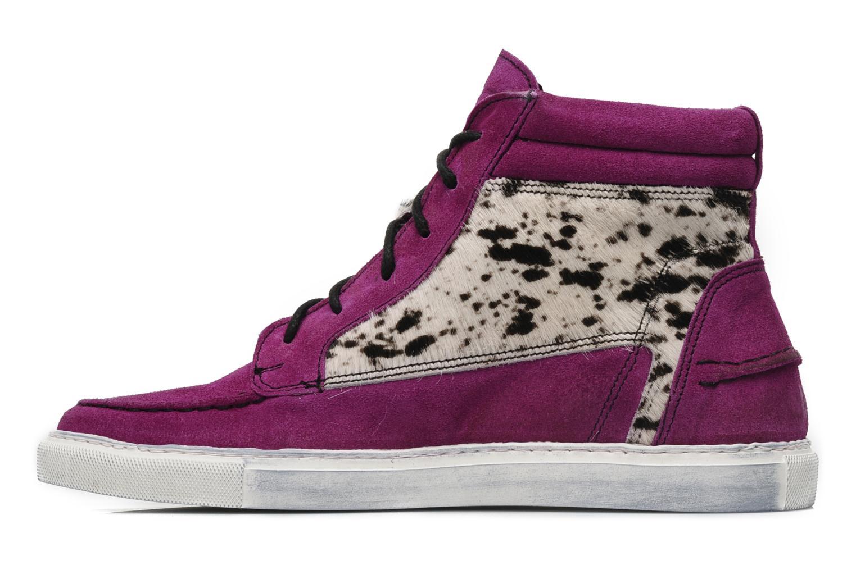 Sneakers Ylati Sibilla High Viola immagine frontale