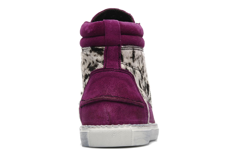 Sneakers Ylati Sibilla High Viola immagine destra