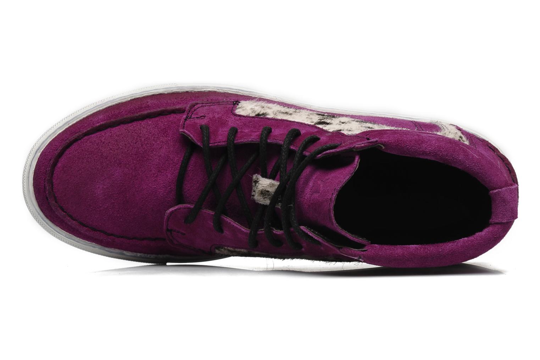 Sneakers Ylati Sibilla High Viola immagine sinistra