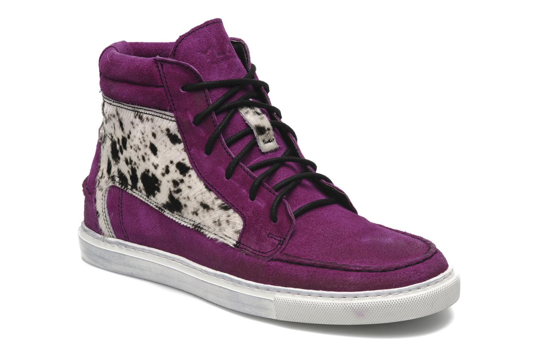 Baskets Ylati Sibilla High Violet vue détail/paire