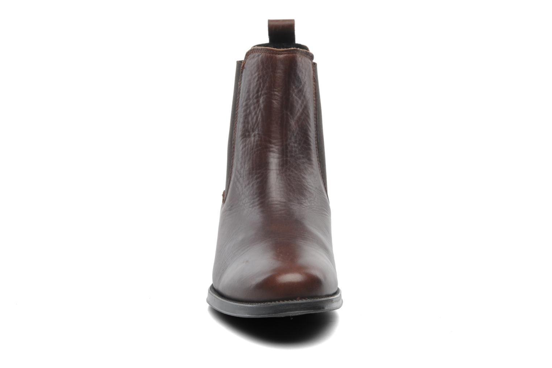 Bottines et boots Elizabeth Stuart Bahia 391 Marron vue portées chaussures