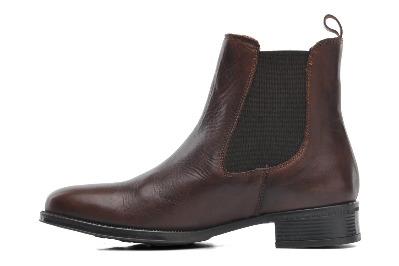 Bottines et boots Elizabeth Stuart Bahia 391 Marron vue face