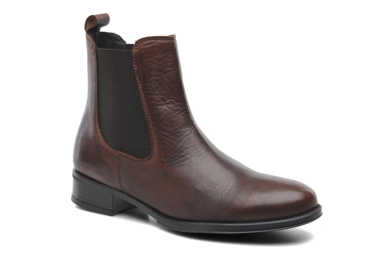 Bottines et boots Elizabeth Stuart Bahia 391 Marron vue détail/paire