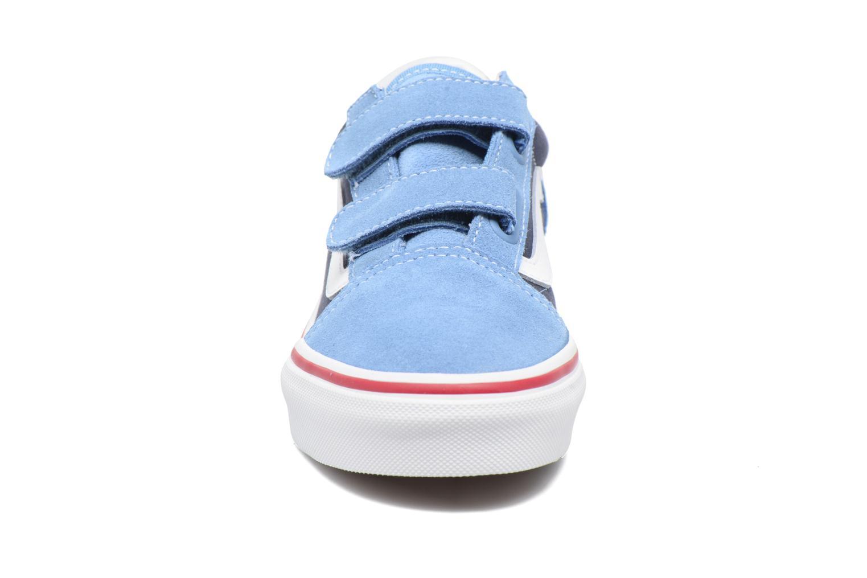 Sneaker Vans Old Skool v blau schuhe getragen