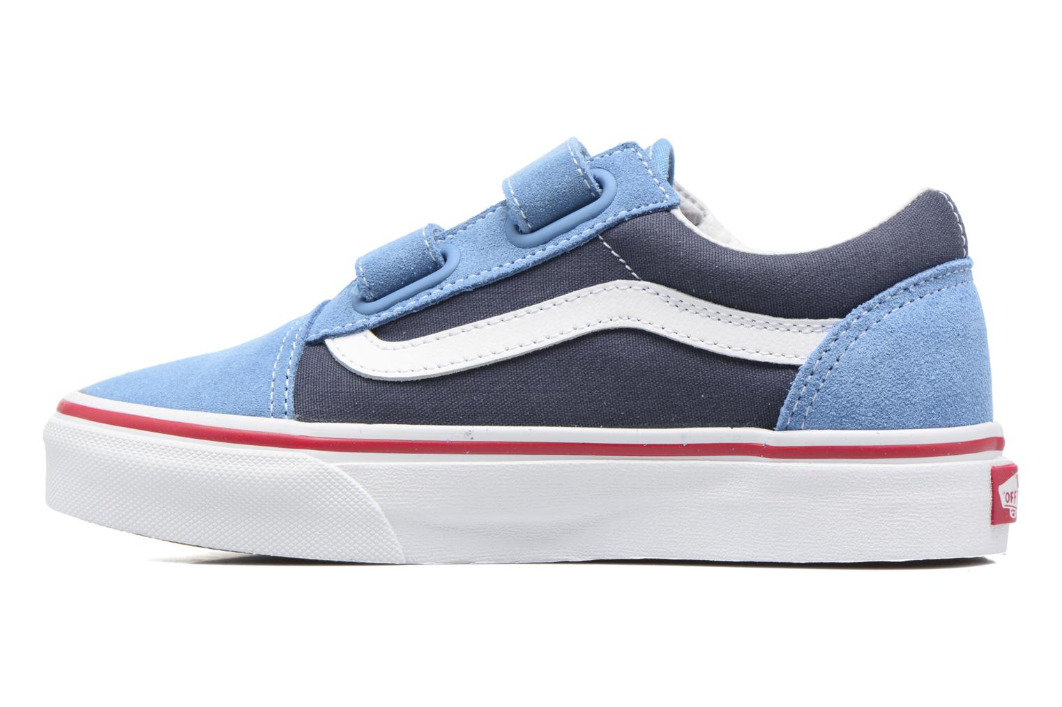 Baskets Vans Old Skool v Bleu vue face