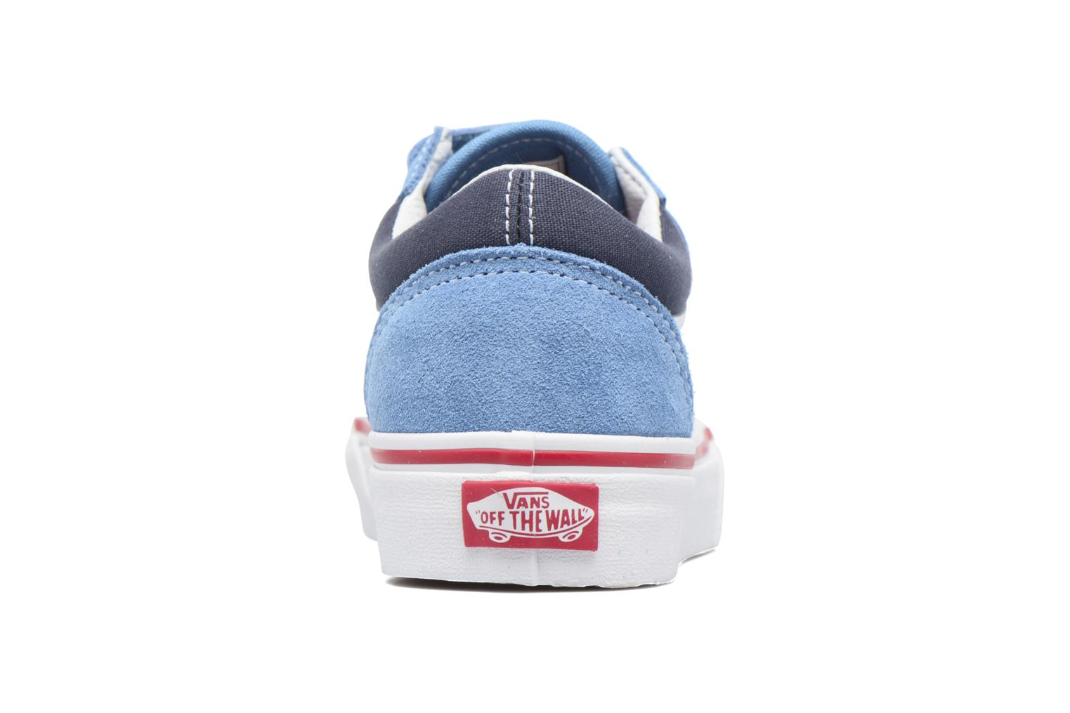 Trainers Vans Old Skool v Blue view from the right