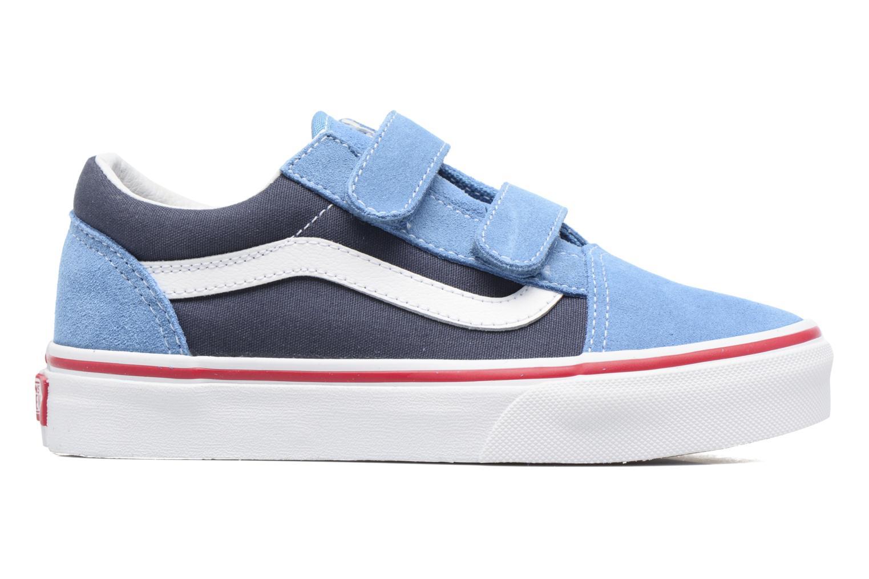 Sneaker Vans Old Skool v blau ansicht von hinten