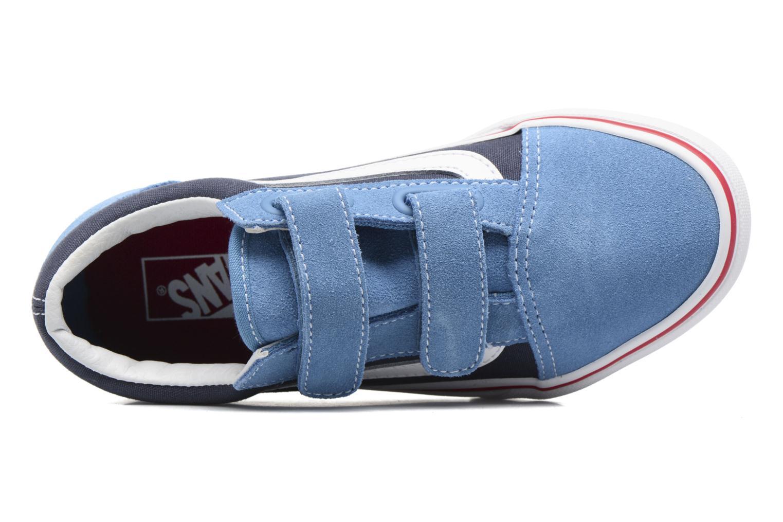 Sneakers Vans Old Skool v Blauw links