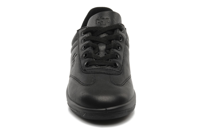 Baskets TBS Easy Walk Dandys Noir vue portées chaussures