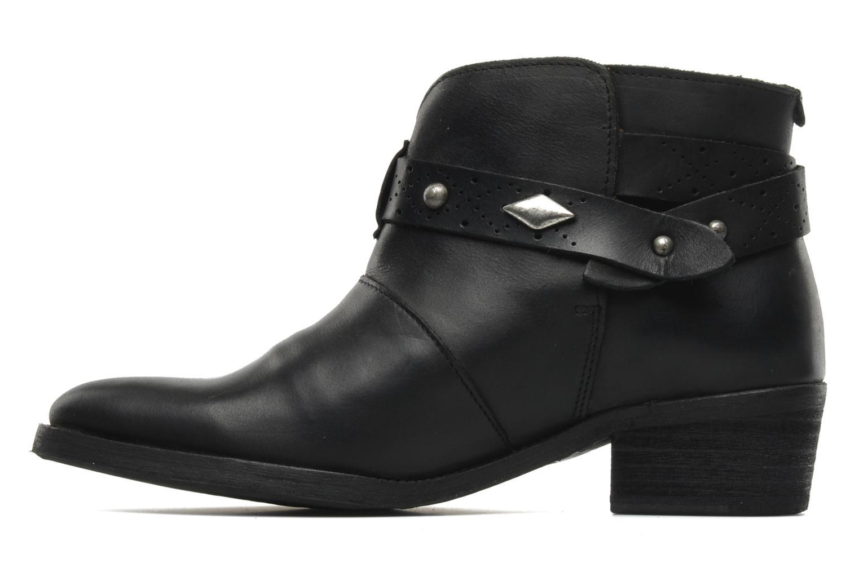 Bottines et boots Koah Carly Noir vue face