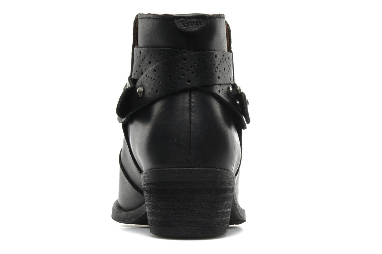 Bottines et boots Koah Carly Noir vue droite