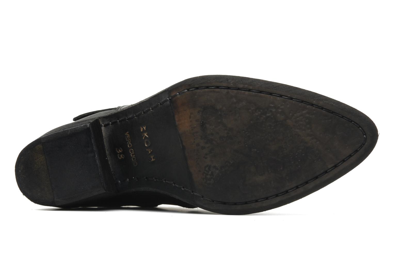 Bottines et boots Koah Carly Noir vue haut