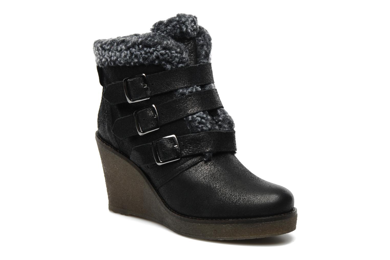 Ankle boots Koah Feliz Black detailed view/ Pair view