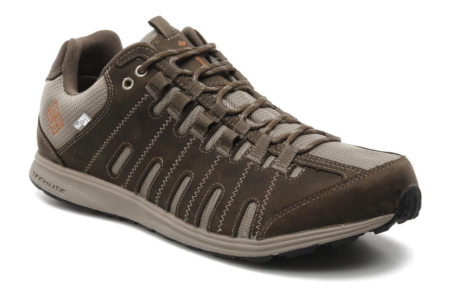 Sneakers Columbia Master Fly Leather M Bruin detail
