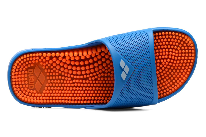 Chaussures de sport Arena Marco x grip man Bleu vue gauche