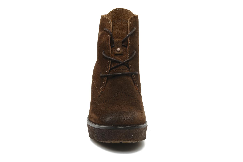Bottines et boots Marc O'Polo Priscille Marron vue portées chaussures
