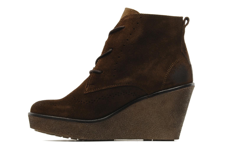 Stiefeletten & Boots Marc O'Polo Priscille braun ansicht von vorne