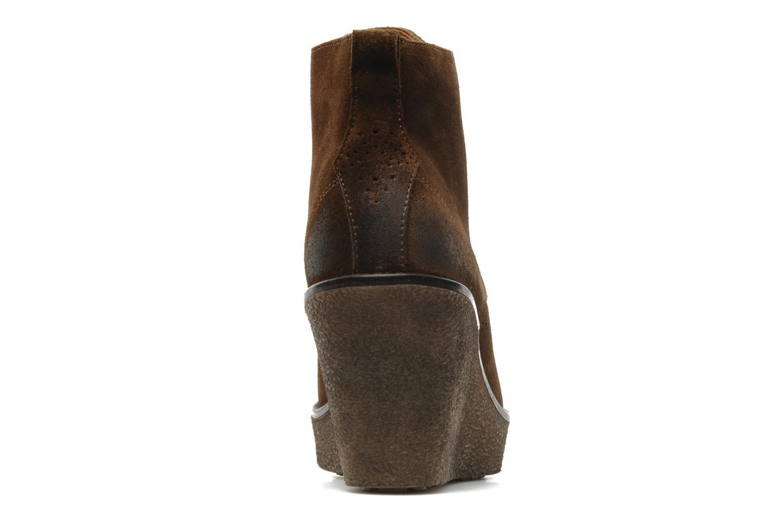 Stiefeletten & Boots Marc O'Polo Priscille braun ansicht von rechts