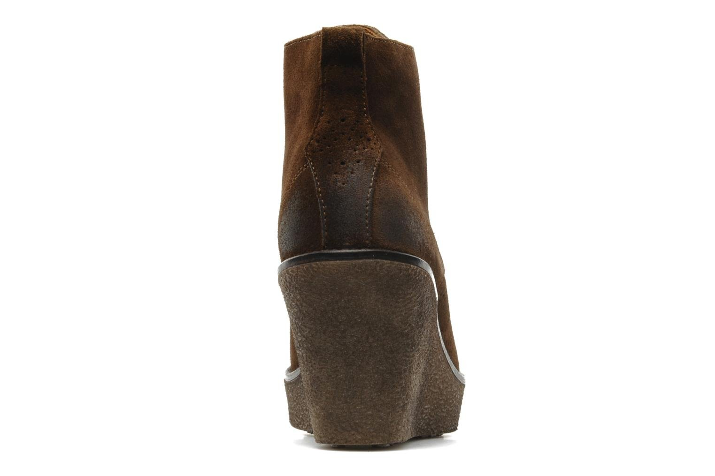 Bottines et boots Marc O'Polo Priscille Marron vue droite