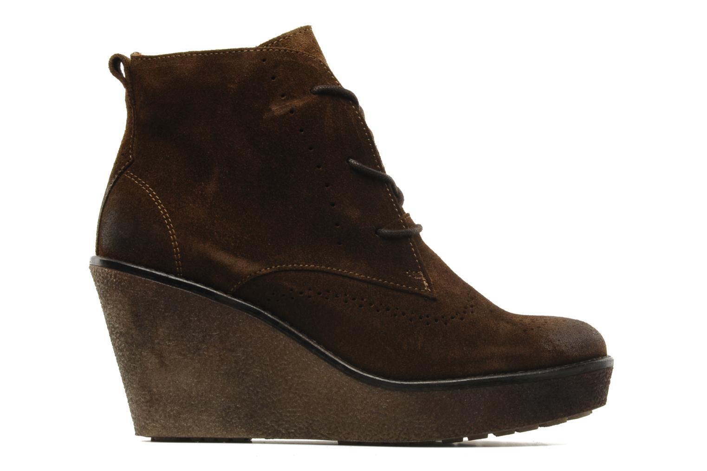 Bottines et boots Marc O'Polo Priscille Marron vue derrière