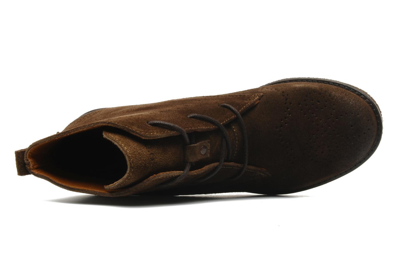 Bottines et boots Marc O'Polo Priscille Marron vue gauche