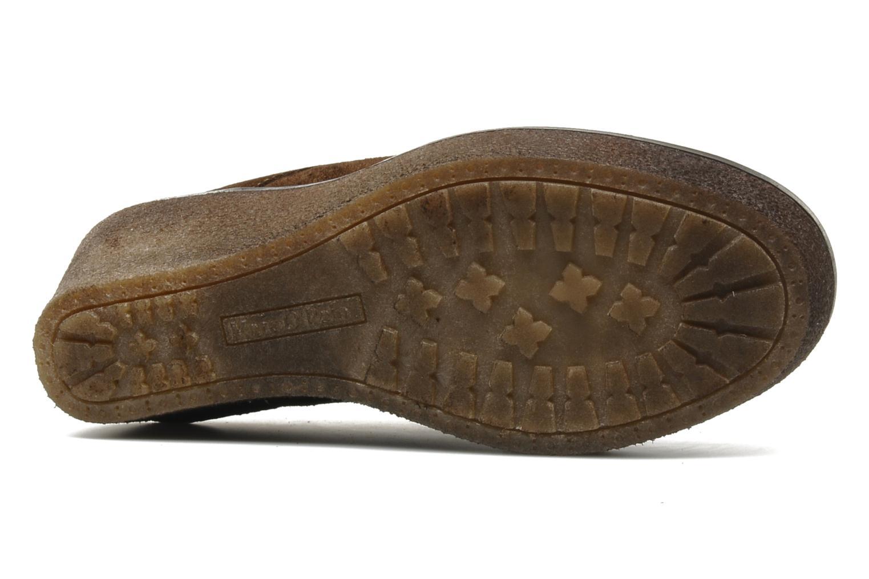 Stiefeletten & Boots Marc O'Polo Priscille braun ansicht von oben