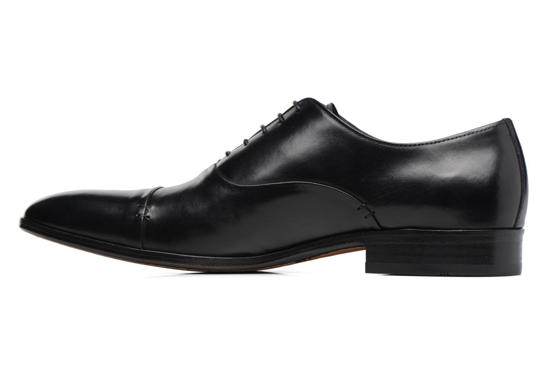 Zapatos con cordones Brett & Sons Garry Negro vista de frente