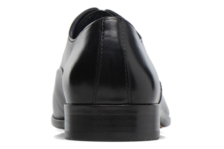 Zapatos con cordones Brett & Sons Garry Negro vista lateral derecha