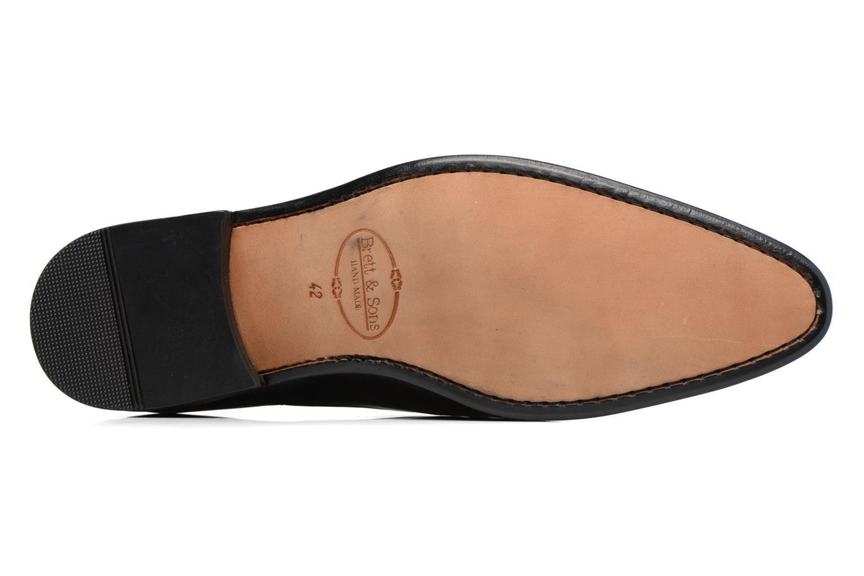 Zapatos con cordones Brett & Sons Garry Negro vista de arriba