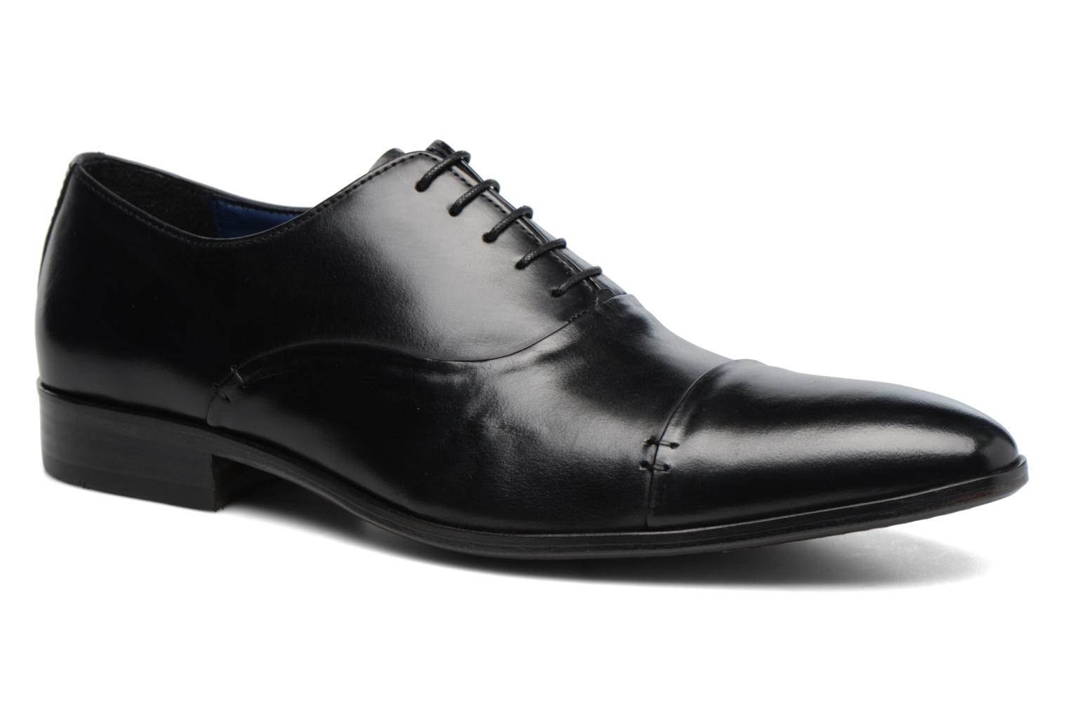 Lace-up shoes Brett & Sons Garry Black detailed view/ Pair view