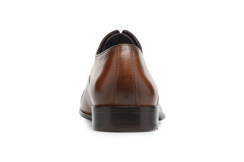 Chaussures à lacets Brett & Sons Garry Marron vue droite