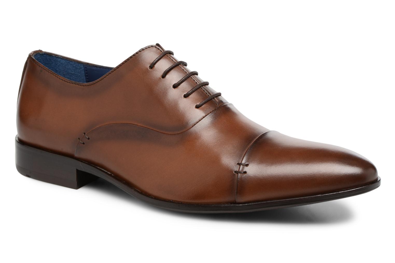 Zapatos con cordones Brett & Sons Garry Marrón vista de detalle / par