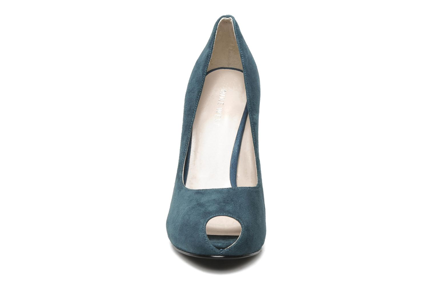 High heels Nine West JUSTCRUISE Blue model view