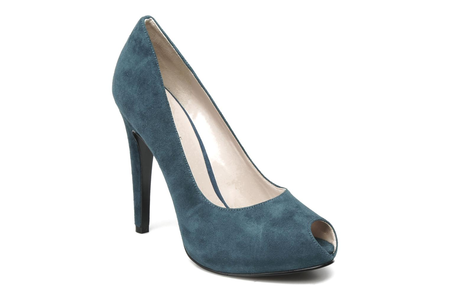 High heels Nine West JUSTCRUISE Blue detailed view/ Pair view