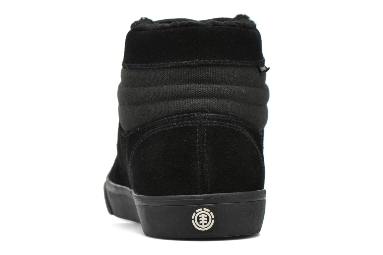 Zapatillas de deporte Element Topaz C3 Mid Negro vista lateral derecha