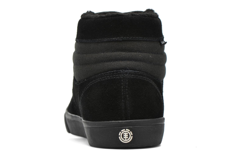 Chaussures de sport Element Topaz C3 Mid Noir vue droite