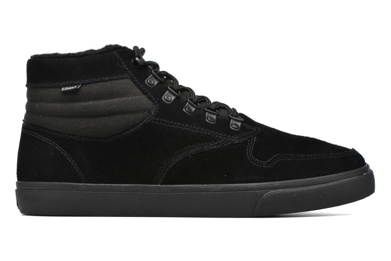 Chaussures de sport Element Topaz C3 Mid Noir vue derrière