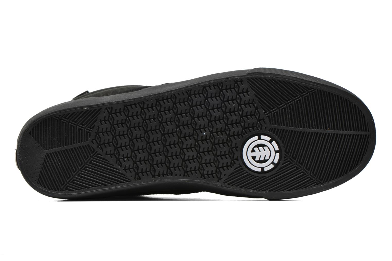 Chaussures de sport Element Topaz C3 Mid Noir vue haut