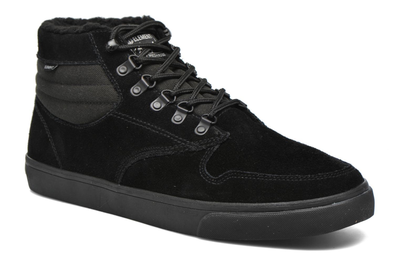 Chaussures de sport Element Topaz C3 Mid Noir vue détail/paire