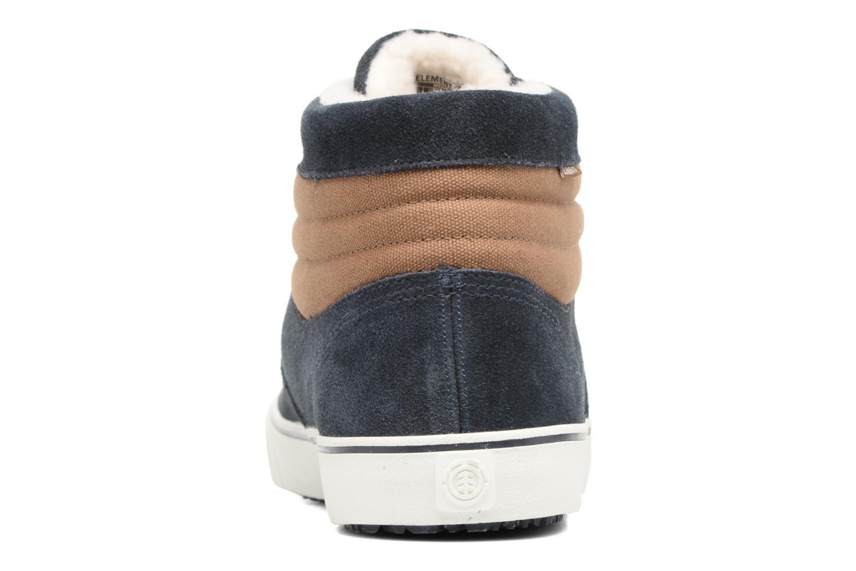 Chaussures de sport Element Topaz C3 Mid Bleu vue droite