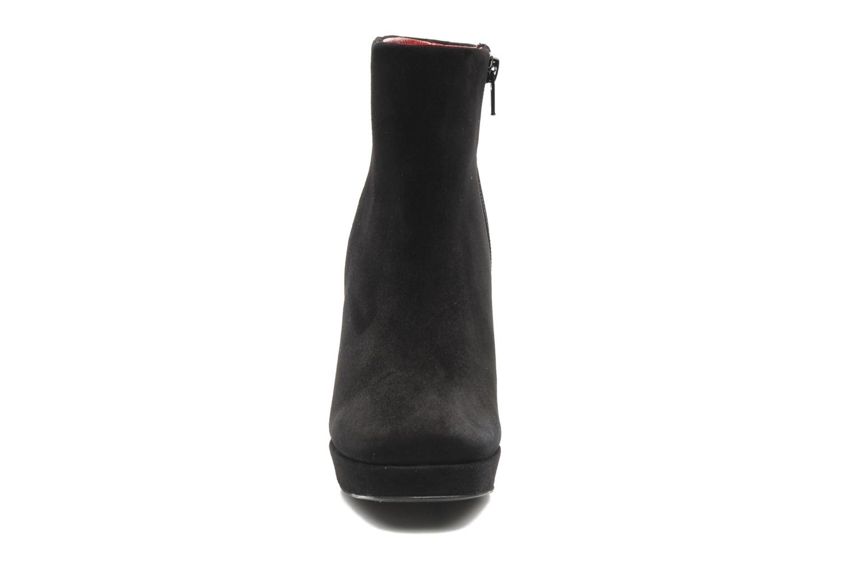 Bottines et boots Georgia Rose Tanova Noir vue portées chaussures