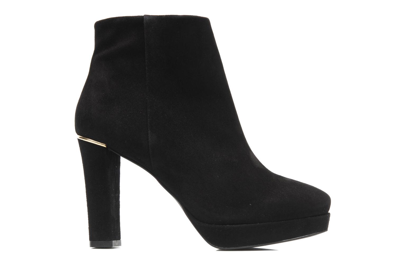 Bottines et boots Georgia Rose Tanova Noir vue derrière