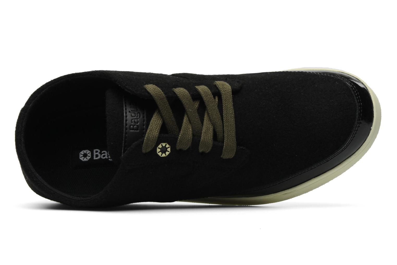 La Broglie BlackCream woolPatent leather